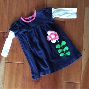 Gap blue dress size 6-12 mo